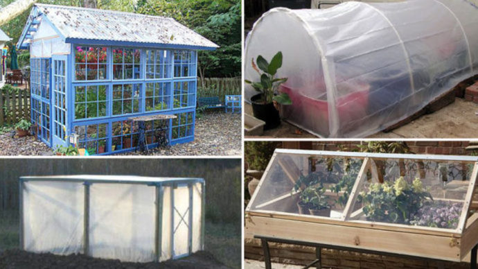 Homemade Greenhouse - A Gardening Structure on a Spending budget