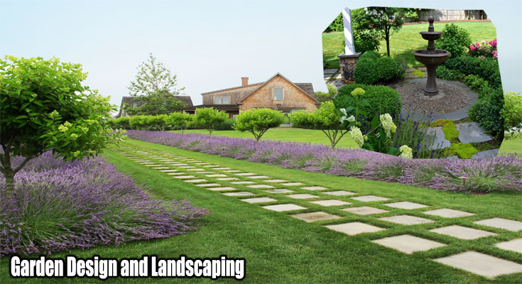 Garden Design and Landscaping - Turn Your Meadow Lawn Into A Beautiful Garden